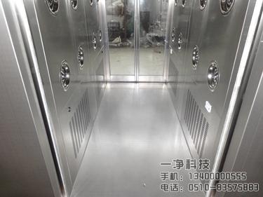 自动感应移门风淋室_无锡一净净化设备有限公司