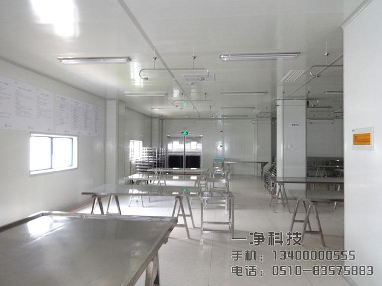 三,饮料食品无菌车间洁净厂房保洁技术洁净厂房的建设虽然对尘埃
