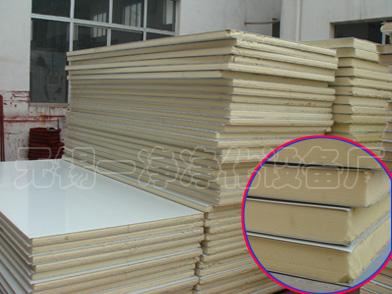 聚氨脂(PU)彩钢夹芯板