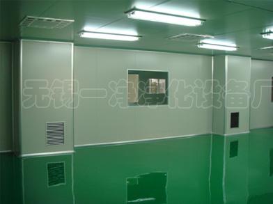EPS夹芯彩钢板在净化工程中的应用